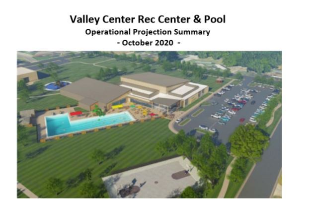 Pool and Rec Center Revenue and Expense Report Cover Page click to view entire document